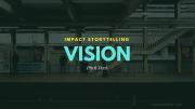 storytelling presentation slide 1 vision