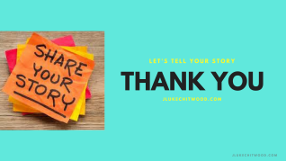 thank you | let's tell your story